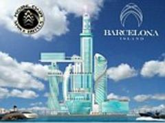 Plans for 1,000ft 'space hotel' on artificial Dubai-style island off coast of Barcelona sparks anger