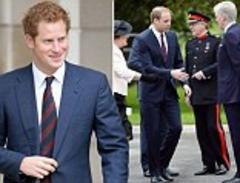 Prince Harry joins William to open Help for Heroes Recovery centre, before he heads to Chelsea Flower Show