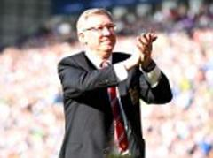 manchester united manager sir alex ferguson wins lma manager of the year award double