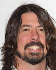Dave Grohl plays with Rolling Stones