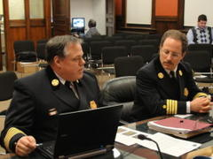Belmont Fire Chief Frizzell Earns Accreditation From Fire Services Commission