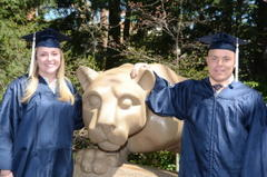 Siblings Graduate From Penn State