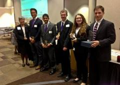 students win first place in economics competition