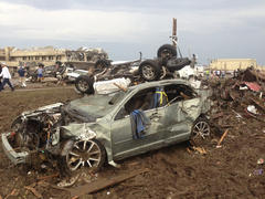 Oklahoma tornado: At least 37 killed as monster storm flattens schools, homes