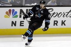 logan couture emerges as leader on sharks