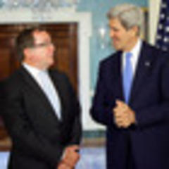 Middle East a hot topic as McCully meets Kerry